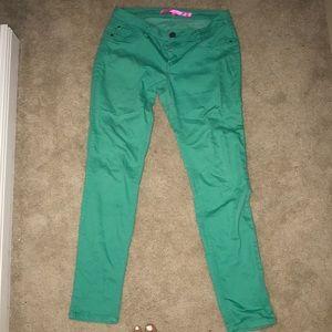 Denim - Turquoise jeans
